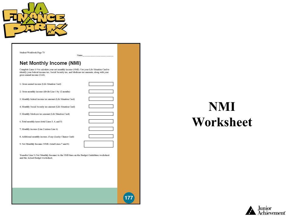 NMI Worksheet