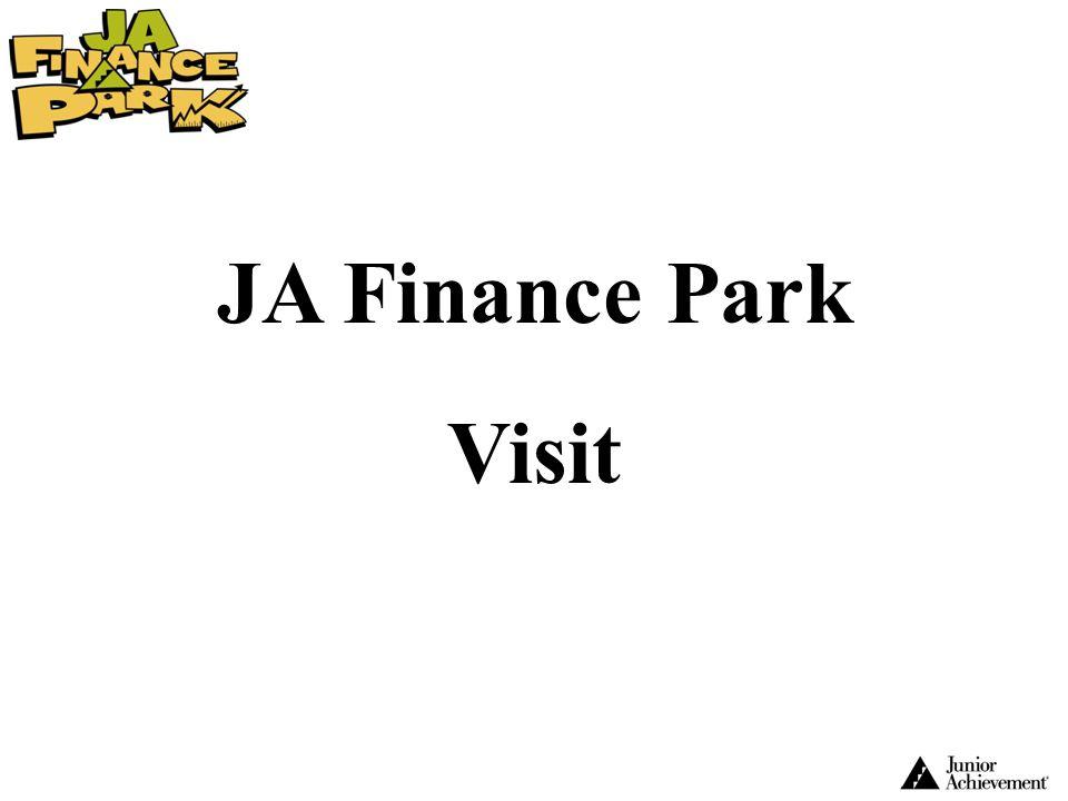 JA Finance Park Visit