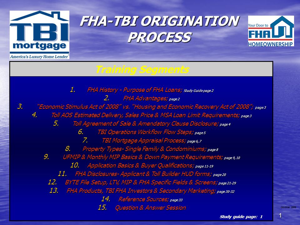 32 BYTE File Setup, LTV, MIP & FHA Specific Fields & Screens MLS Origination Steps 1.