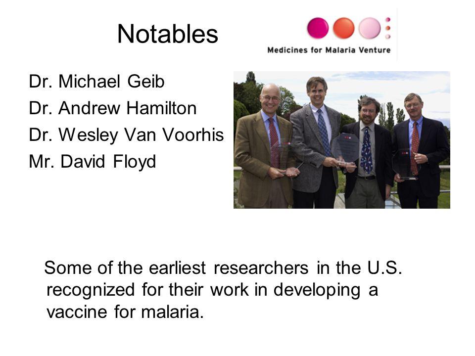 Notables Dr. Michael Geib Dr. Andrew Hamilton Dr.