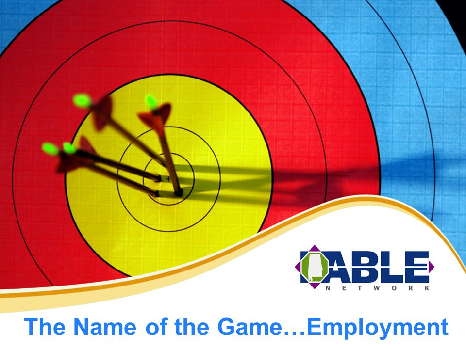 The Name of the Game…Employment