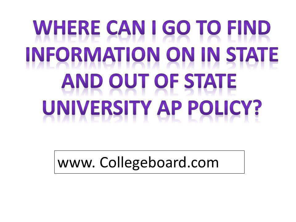 www. Collegeboard.com