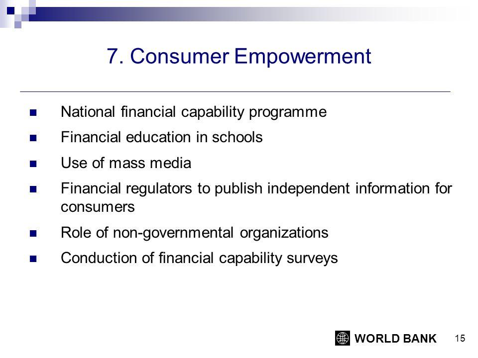 WORLD BANK 15 7.