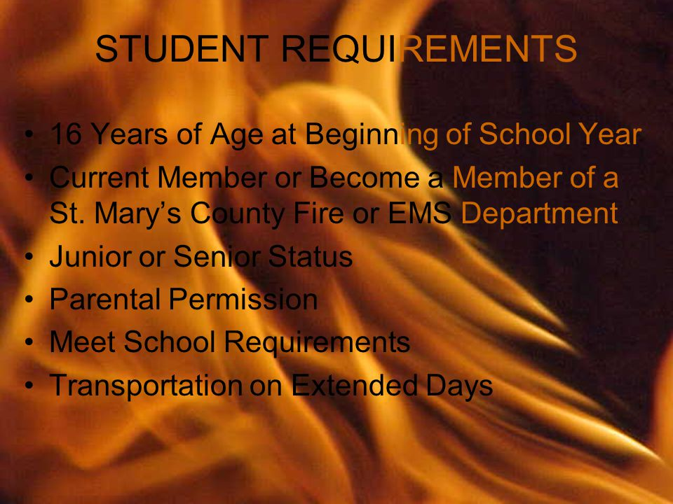 16 Years of Age at Beginning of School Year Current Member or Become a Member of a St.