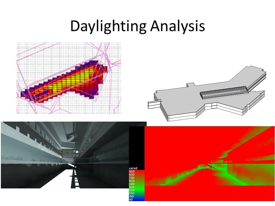 Daylighting Analysis
