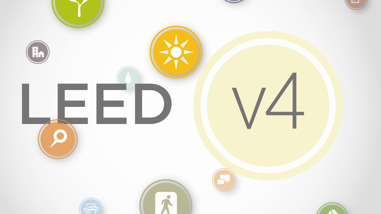 When will projects be allowed to register for LEED v4.