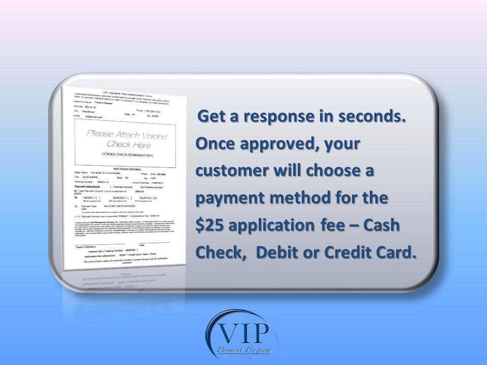 Get a response in seconds. Get a response in seconds.