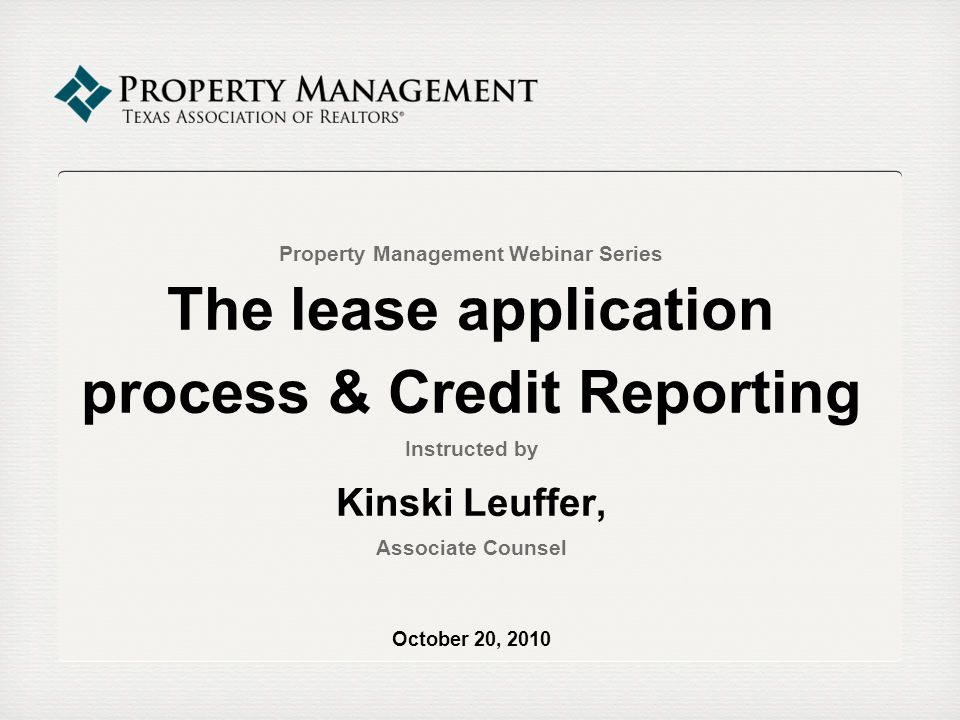 Credit Reporting: Adverse Action Under FCRA § 615(a), a landlord must provide Notice of Adverse Action to an applicant who is rejected based in whole or in part on information obtained from the applicants credit report.