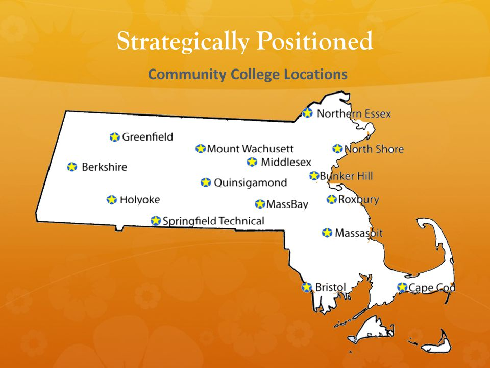 Community College Locations Strategically Positioned