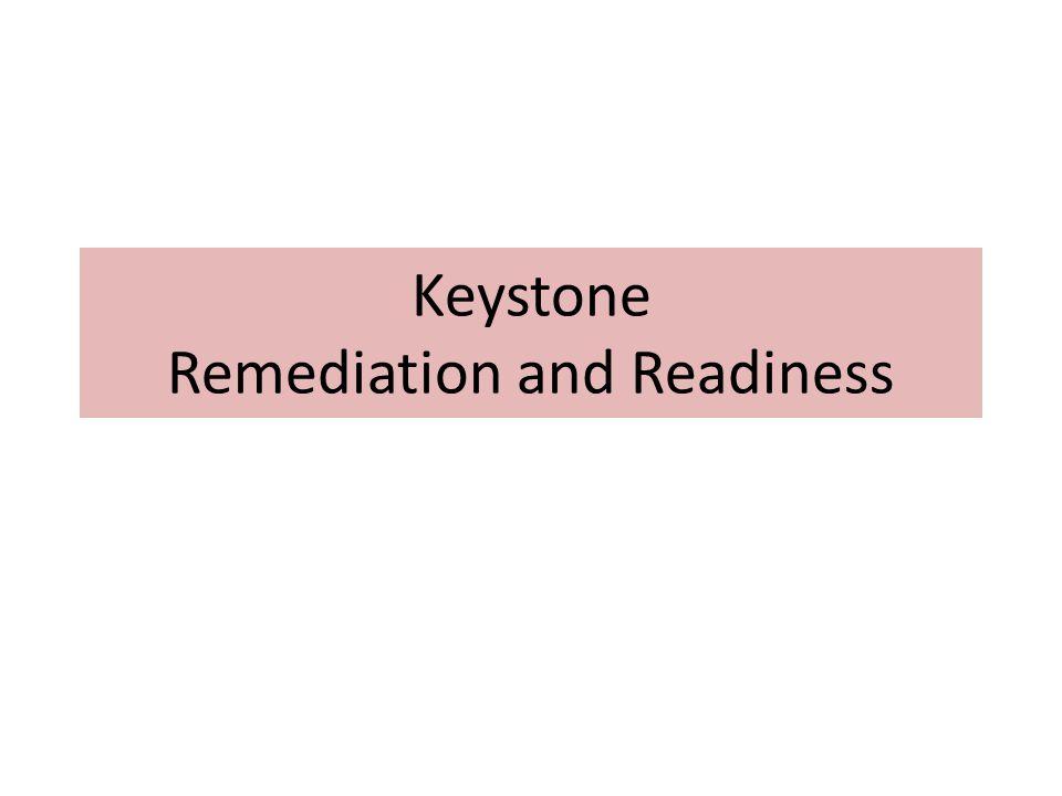 Keystone Remediation and Readiness