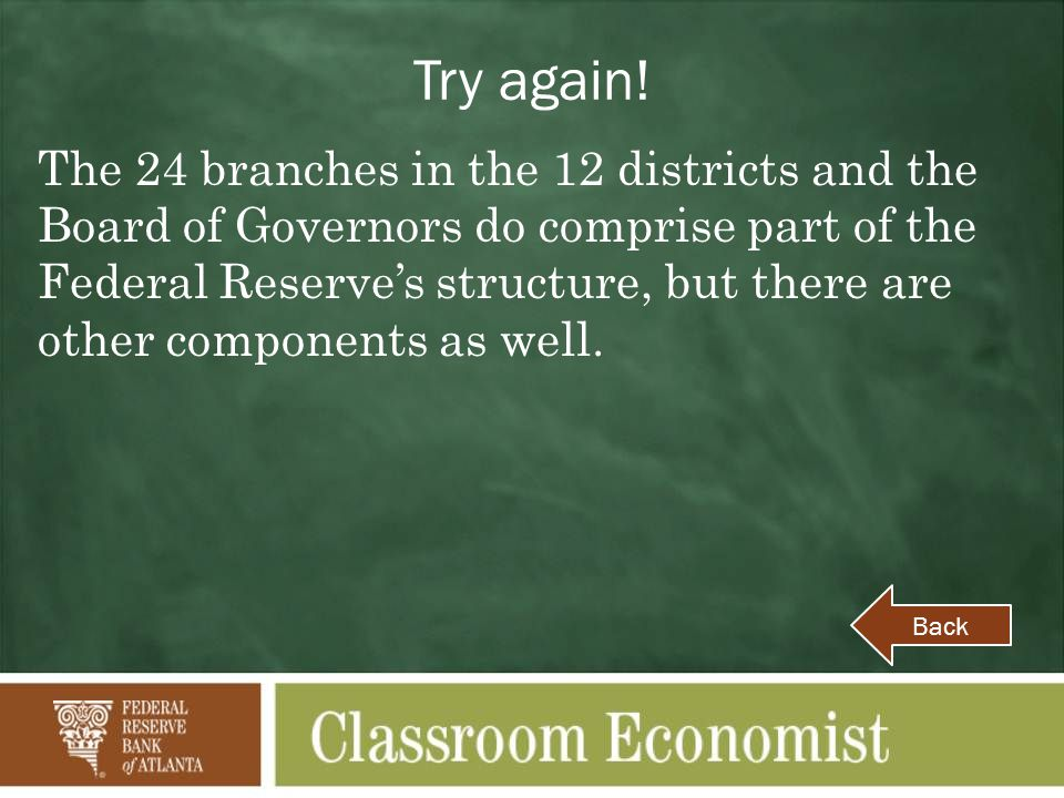 Try again.The Federal Reserve does not regulate all financial institutions in the United States.