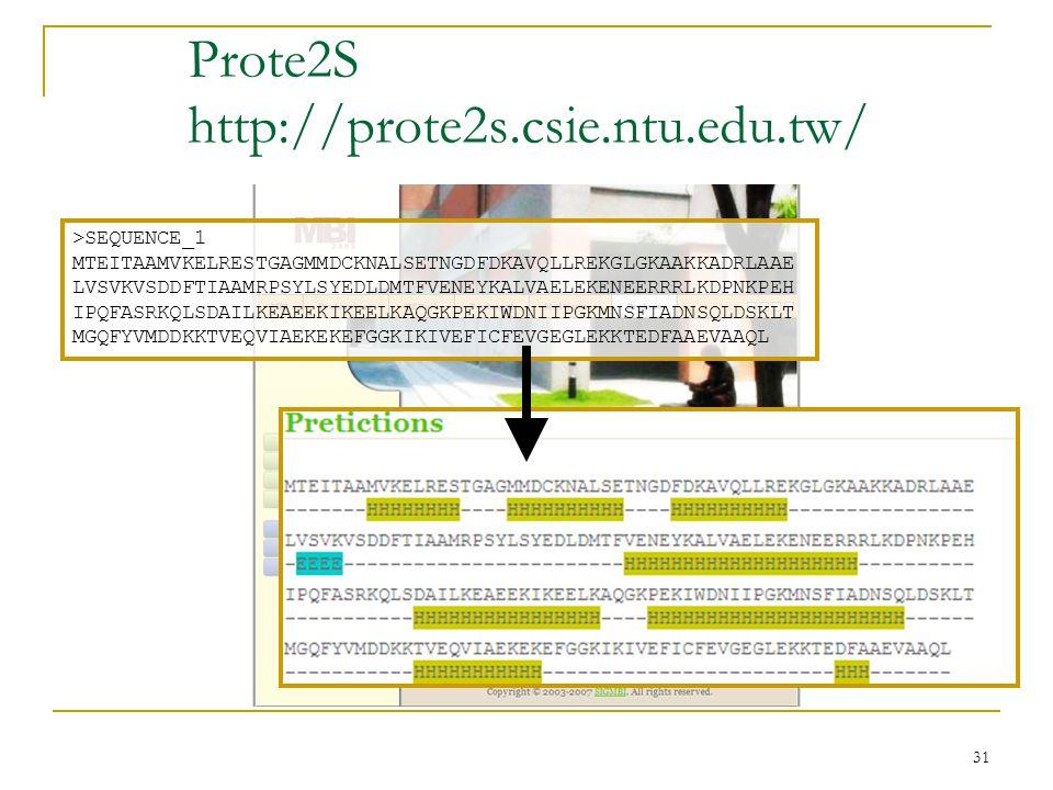 31 Prote2S http://prote2s.csie.ntu.edu.tw/ >SEQUENCE_1 MTEITAAMVKELRESTGAGMMDCKNALSETNGDFDKAVQLLREKGLGKAAKKADRLAAE LVSVKVSDDFTIAAMRPSYLSYEDLDMTFVENEYKALVAELEKENEERRRLKDPNKPEH IPQFASRKQLSDAILKEAEEKIKEELKAQGKPEKIWDNIIPGKMNSFIADNSQLDSKLT MGQFYVMDDKKTVEQVIAEKEKEFGGKIKIVEFICFEVGEGLEKKTEDFAAEVAAQL