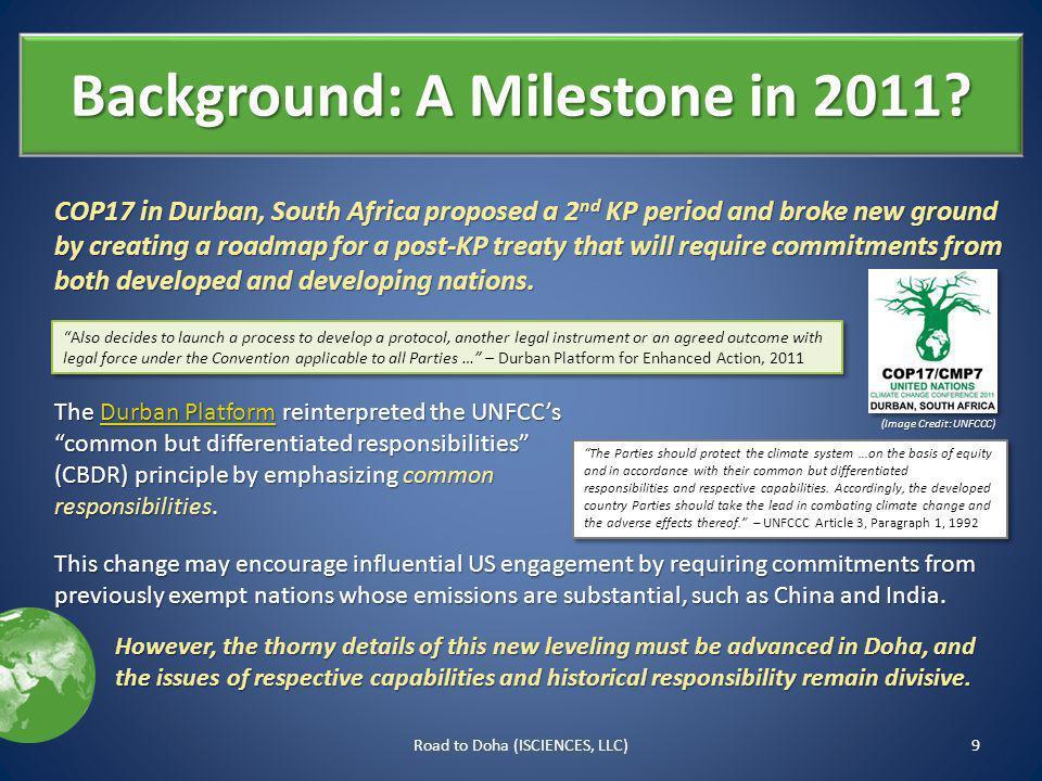 Background: A Milestone in 2011.