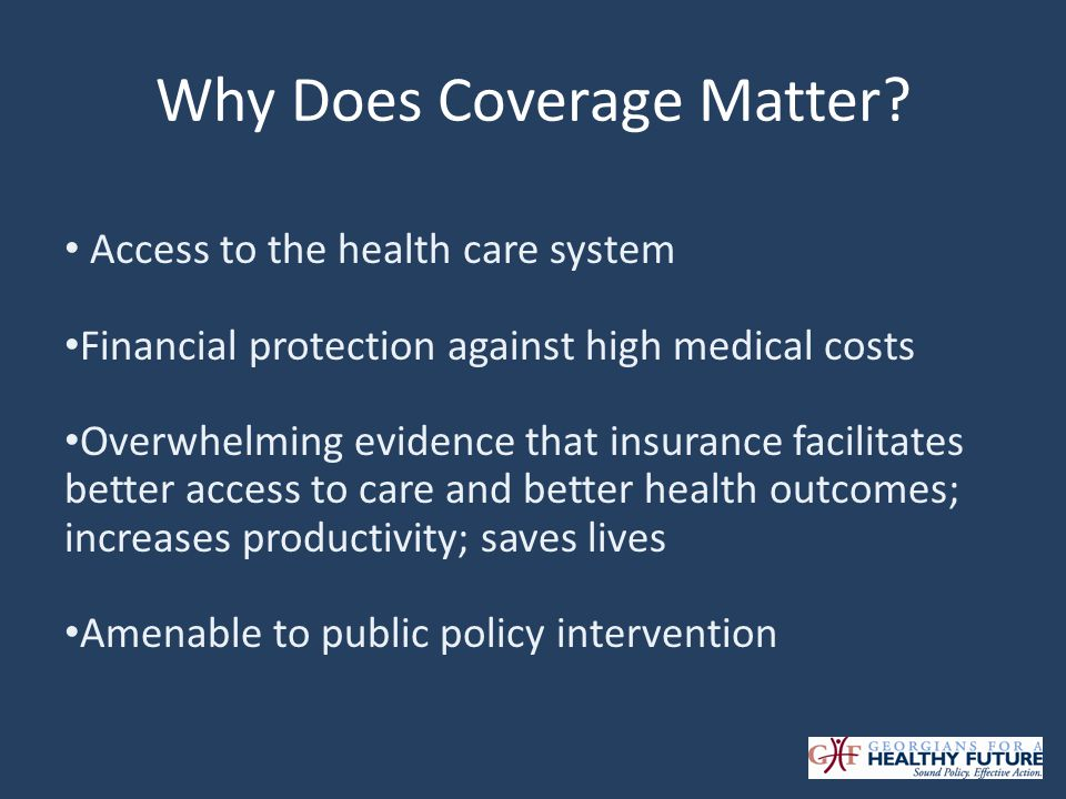 Why Does Coverage Matter.