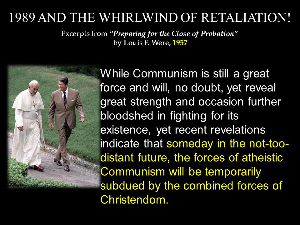 While Communism is still a great force and will, no doubt, yet reveal great strength and occasion further bloodshed in fighting for its existence, yet