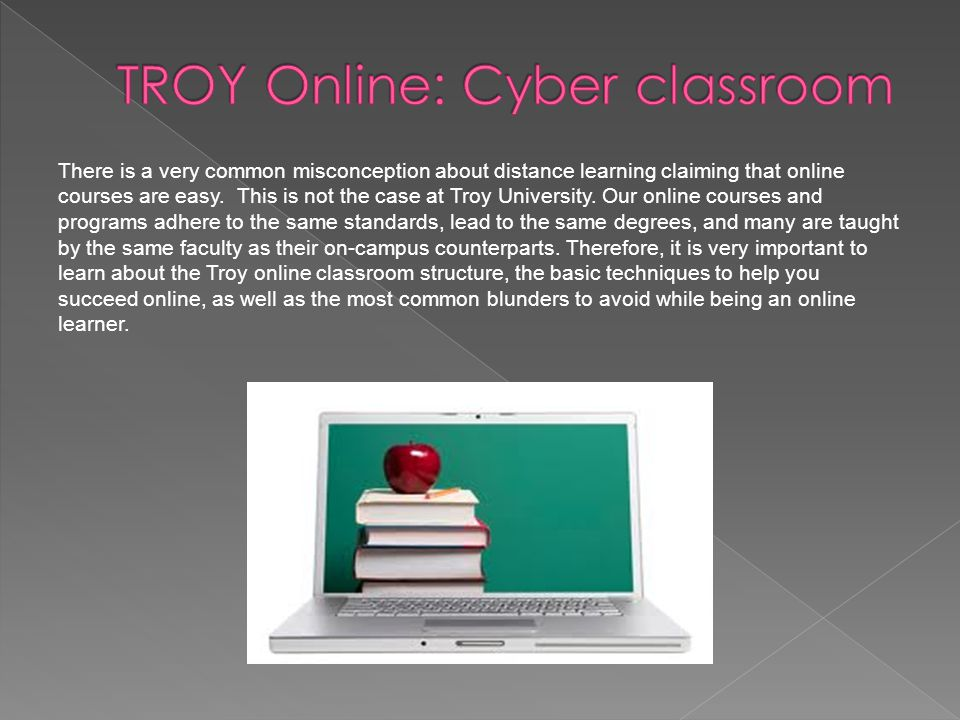There is a very common misconception about distance learning claiming that online courses are easy.