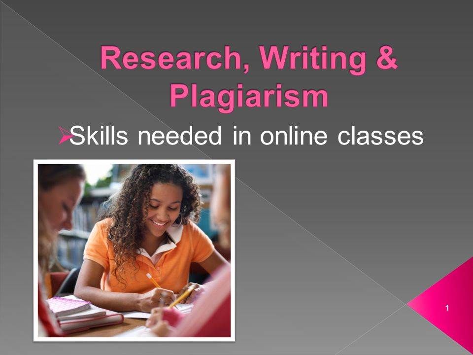 Skills needed in online classes 1