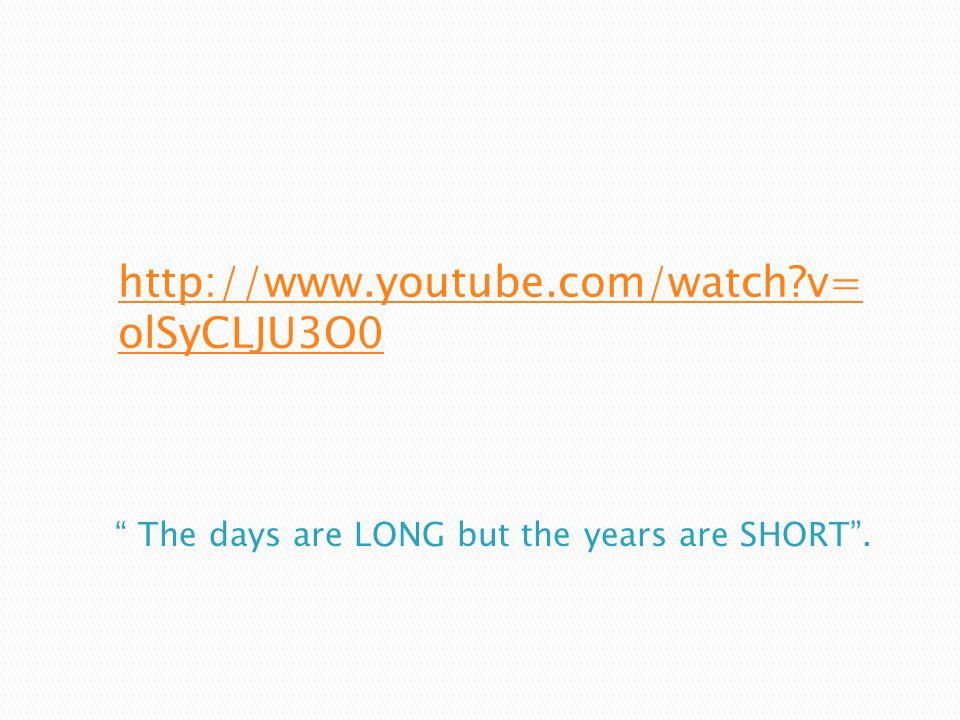 http://www.youtube.com/watch v= olSyCLJU3O0