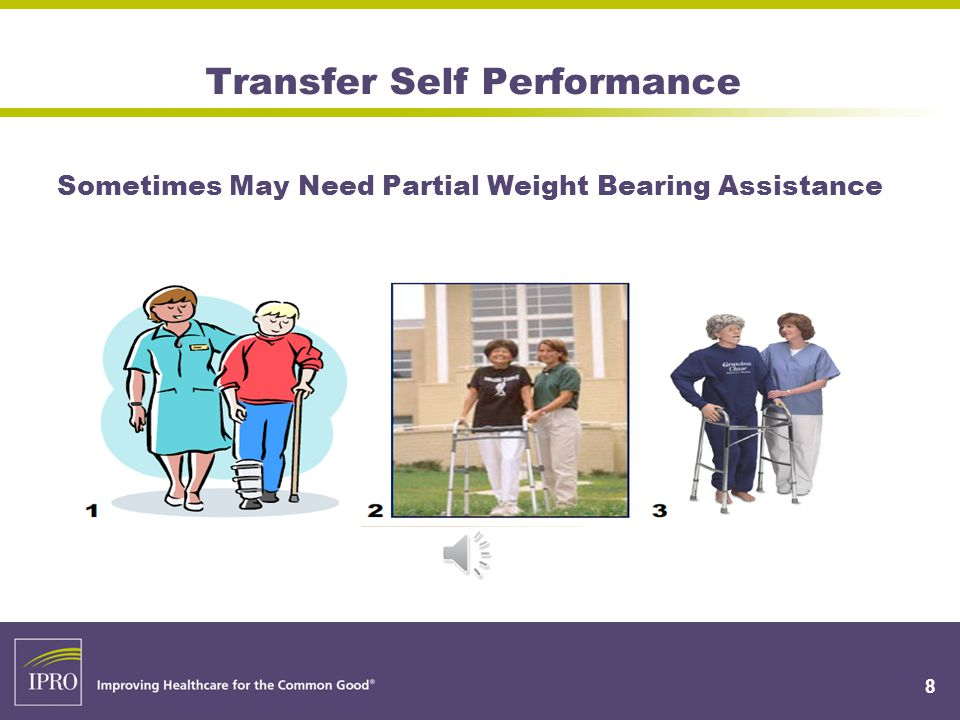 Bed Mobility & Transfer Self Performance 18