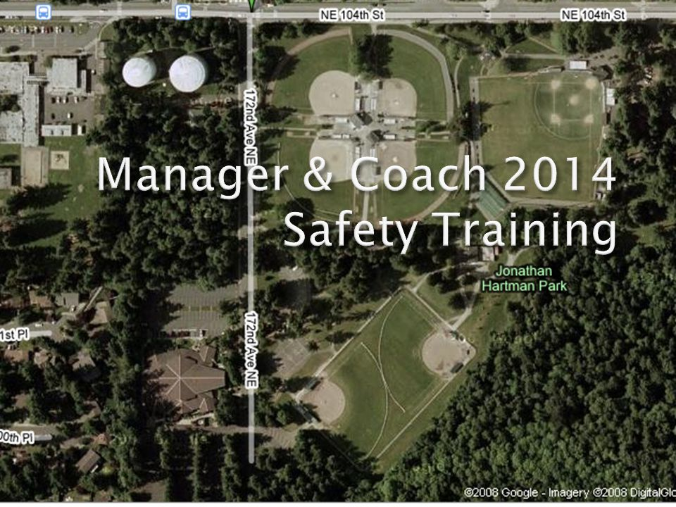 12 RWLL 2014 Safety Training Accident Reports Injuries happen.