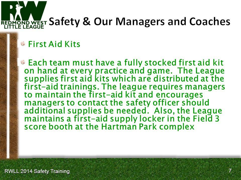 28 RWLL 2014 Safety Training
