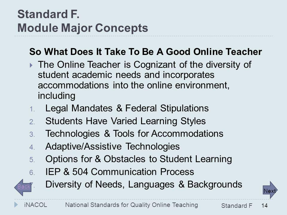 Question: Online learning includes a(n) _________ high quality core curriculum? 1. Expensive 2. Generic 3. Personalized 4. Solitary Online Teaching Vi