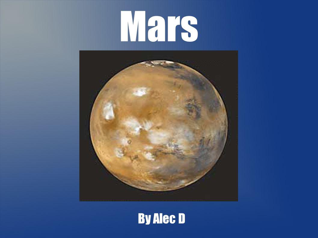 Mars By Alec D