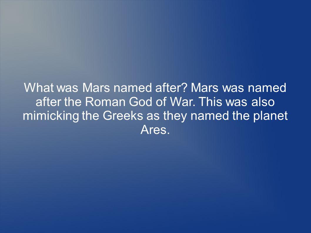 Mars s Crust Mars s crust is 30 miles thick.