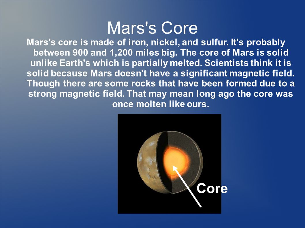 Temperature Mars is definitely colder than Earth.It s average temperature is -80 degrees F.