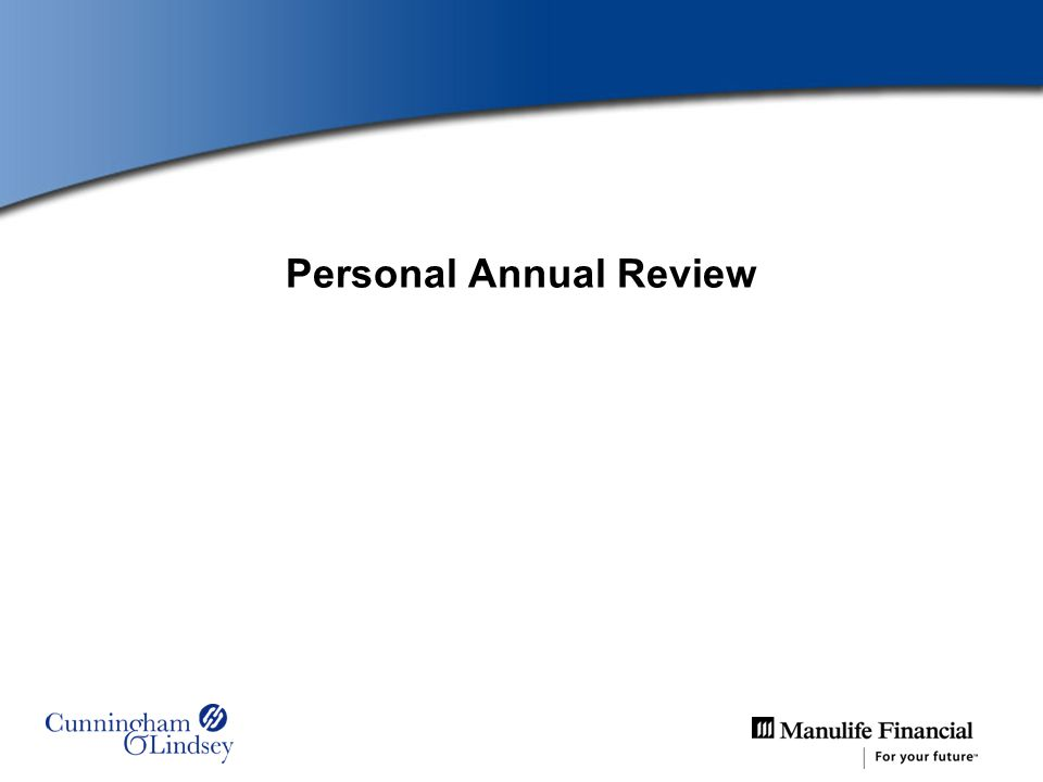 Personal Annual Review