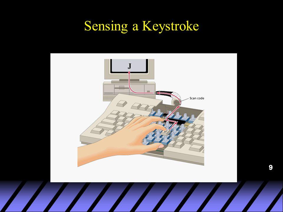 9 Sensing a Keystroke