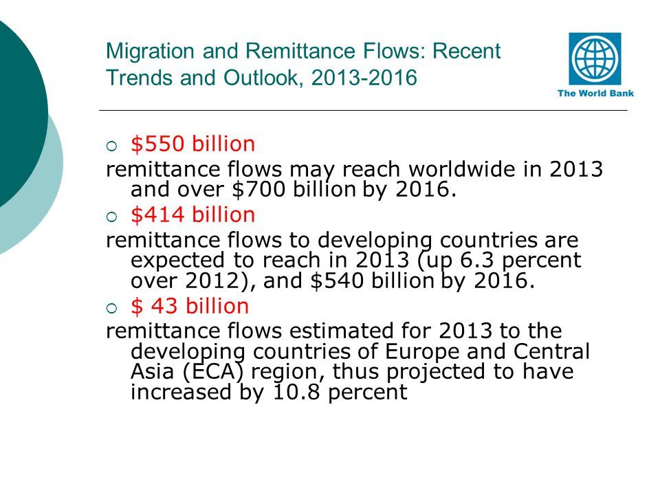 Top-10 remittance recipients in the world Top 10 recipients of remittances.