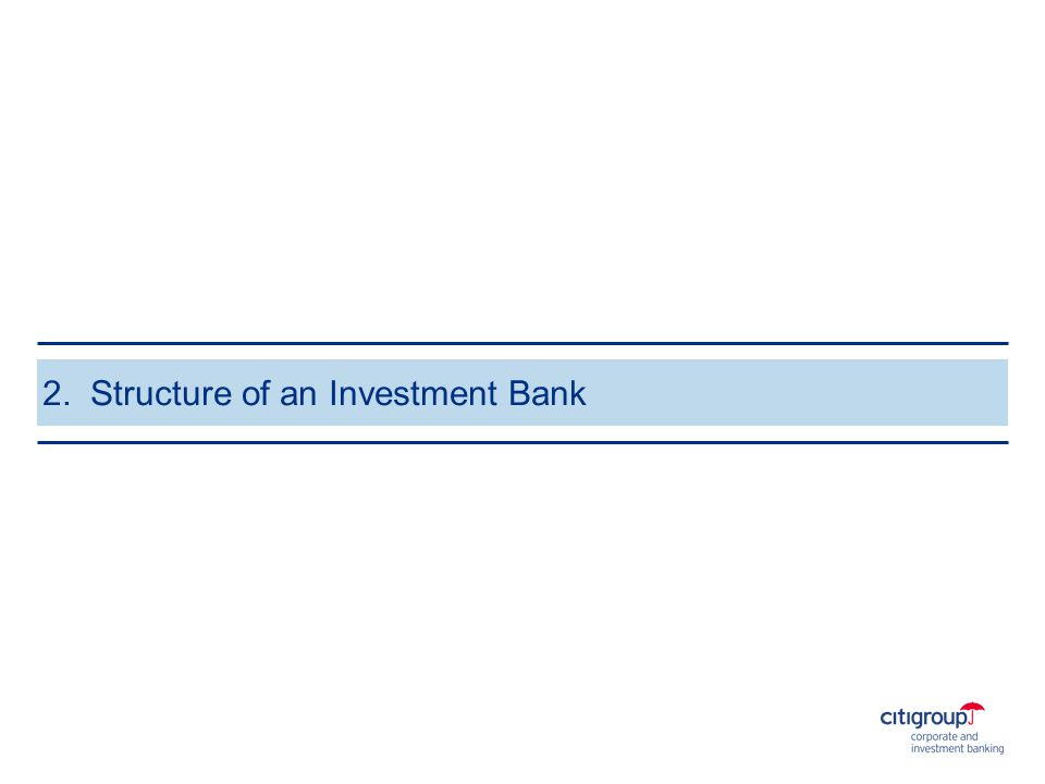 What is an Investment Bank.