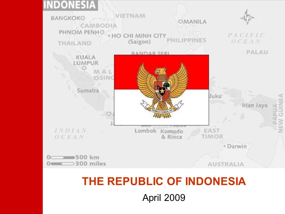 THE REPUBLIC OF INDONESIA April 2009