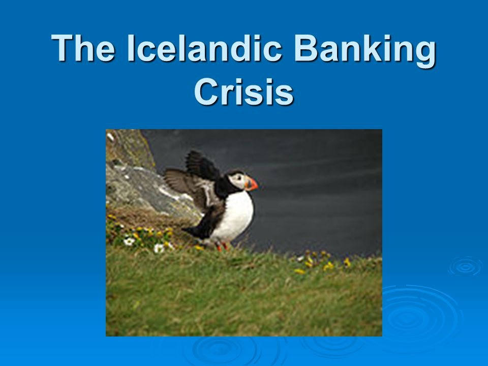 Were the banks solvent.