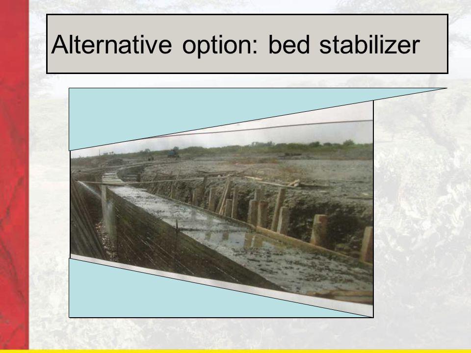 Alternative option: bed stabilizer