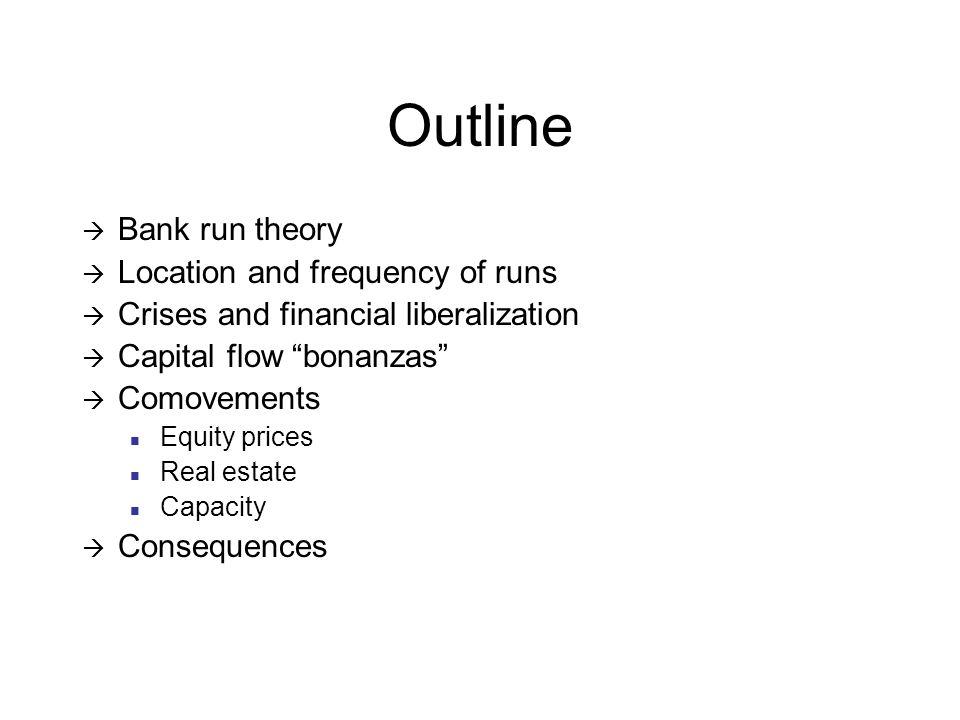 Frequency of Banking Crises Developing Nigeria 1, China 10, India 6, Egypt 3, Japan 8, Singapore 1, Argentina 9, Brazil 11, Chile 7, Mexico 7 Developed Germany 8, Greece 2, UK 12, France 15, US 13, Canada 8, New Zealand 1