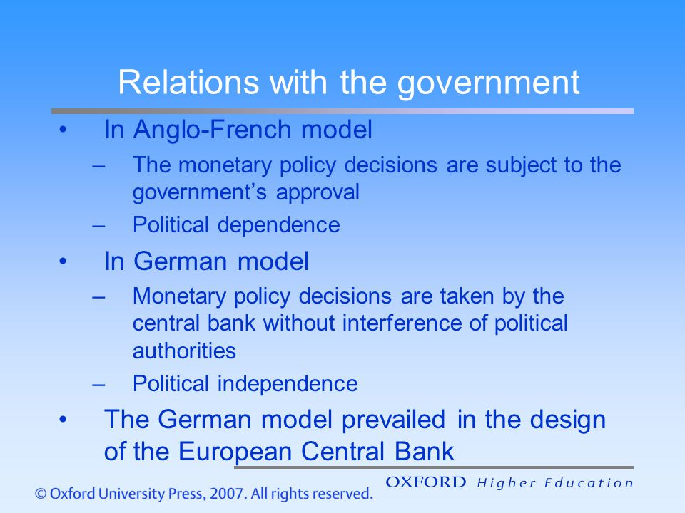 What ECB could do to avoid conflicts.