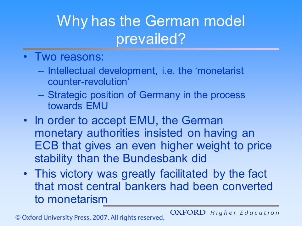 This will lead to grave conflicts within the Eurosystem Consensus model is likely to break down The essence of the problem: small countries are over-represented in the Governing Council In enlarged Eurosystem this will have fatal effect that interest rate decisions may not always be made on the basis of the average economic conditions that prevail in the union