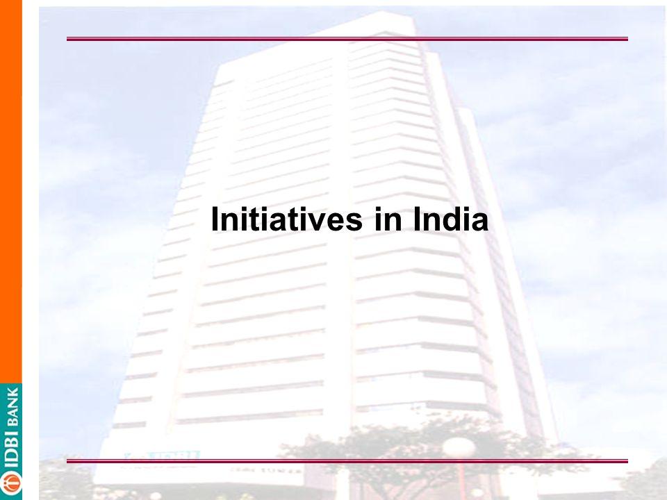 Initiatives in India