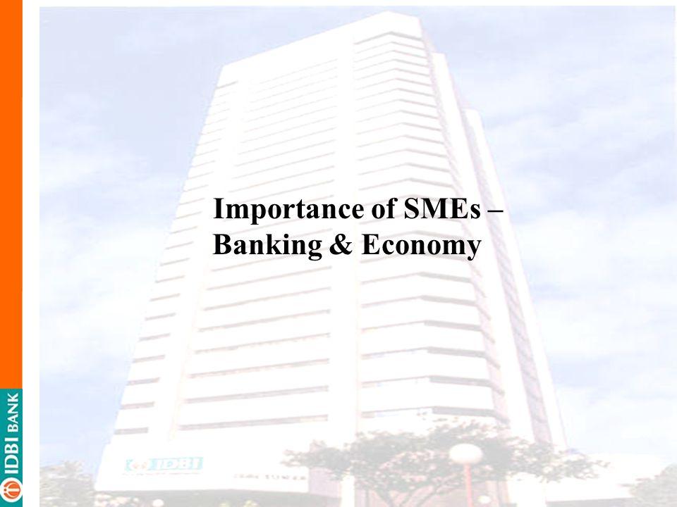 Importance of SMEs – Banking & Economy