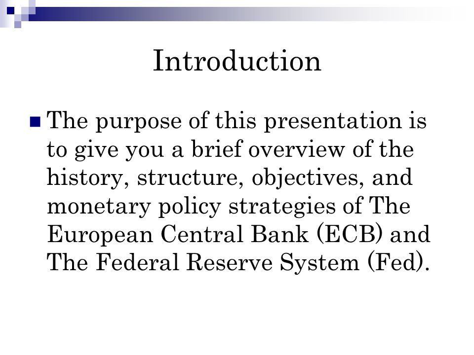 Critique & Conclusion As can be seen from our analysis, The ECB and The Fed are following similar Monetary Policy strategies.