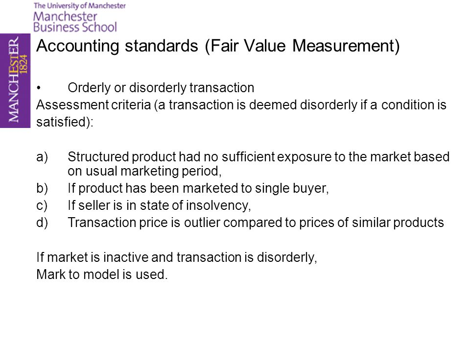Accounting standards (Fair Value Option) FAS 159 - Intention is to reduce financial statement volatility and reduce onerous documentation requirements under FAS133.