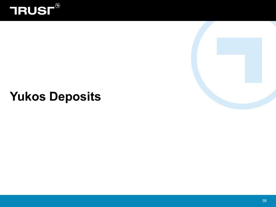 59 Yukos Deposits