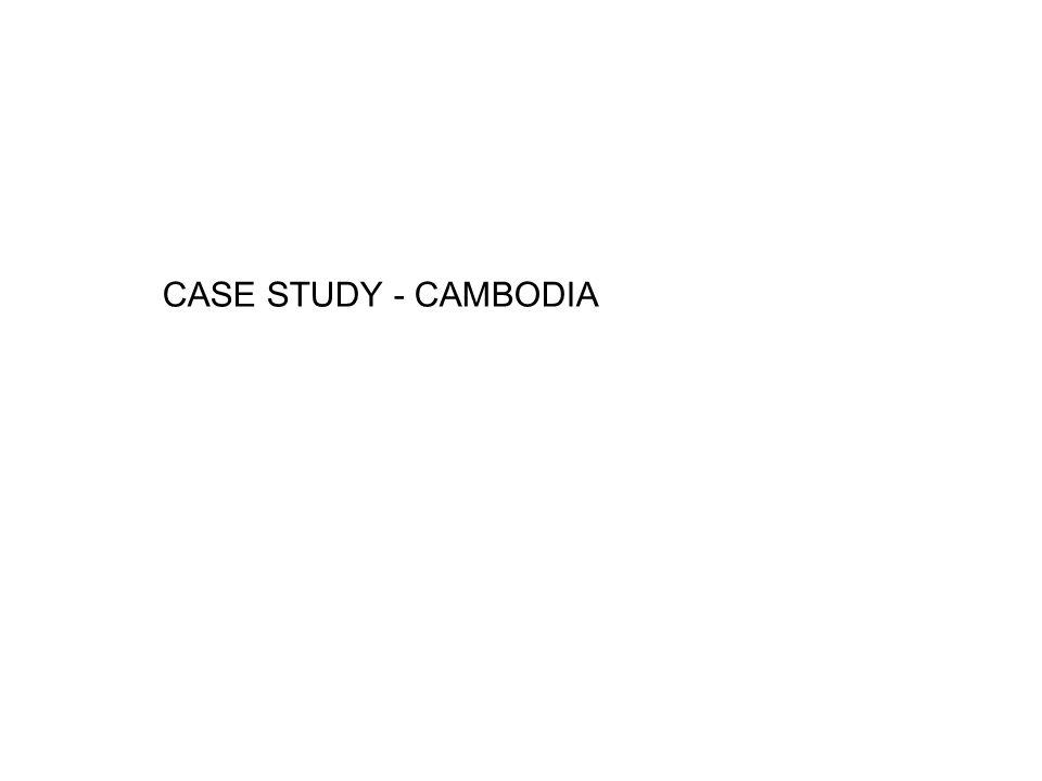 CASE STUDY - CAMBODIA