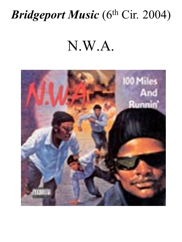 N.W.A. Bridgeport Music (6 th Cir. 2004)