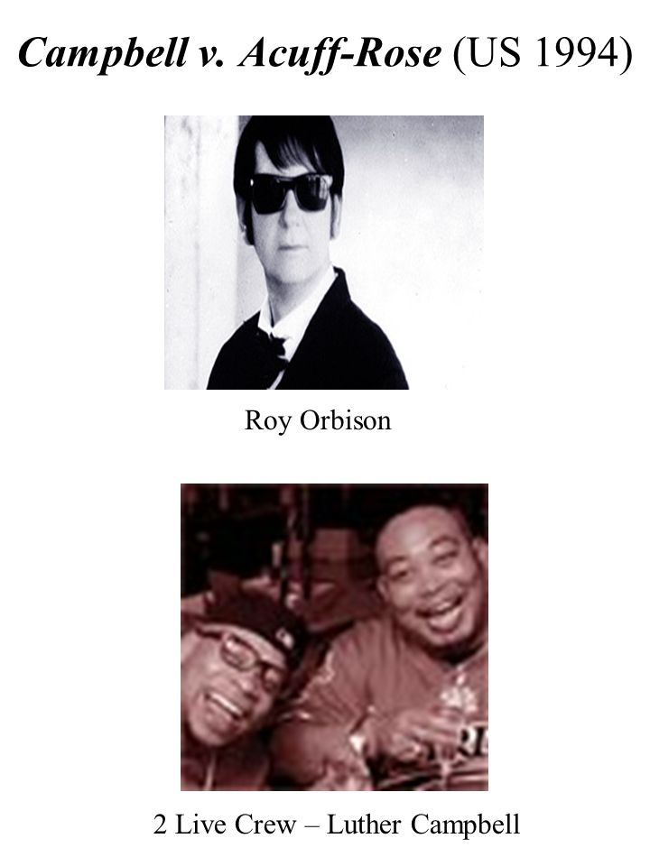 Roy Orbison 2 Live Crew – Luther Campbell
