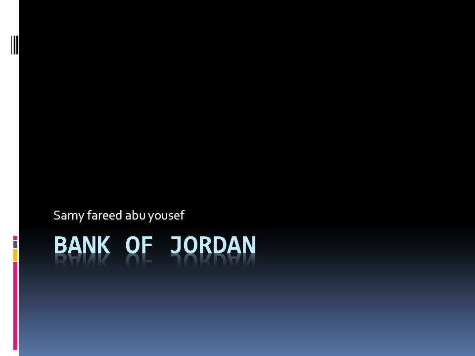Bank of Jordan Bank of Jordan is a pioneering bank that was established in Jordan in 1960.