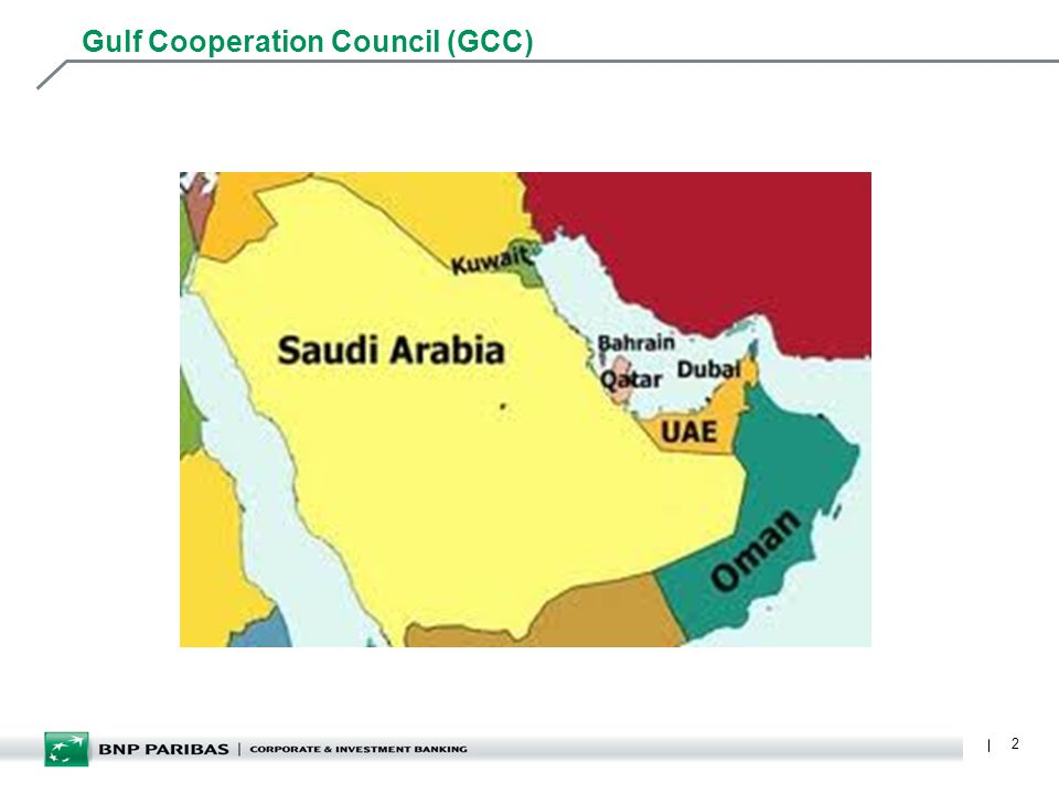 2 Gulf Cooperation Council (GCC)