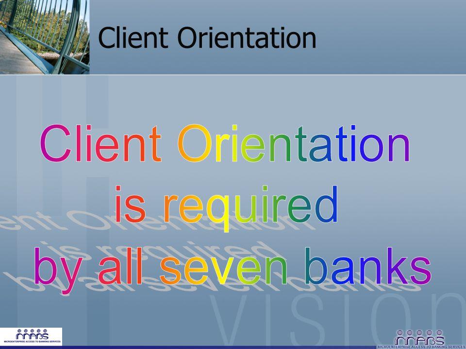 Client Orientation